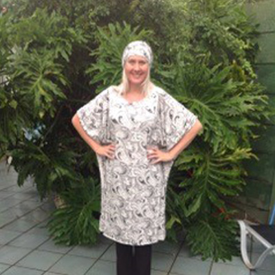 Head covering with matching Caftan